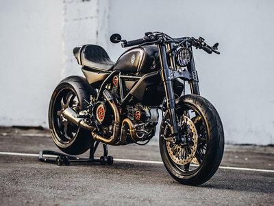 Ducati Scrambler Jab Launcher, la ligera y adrenalínica creacion de Rough Crafts sobre la superventas italiana