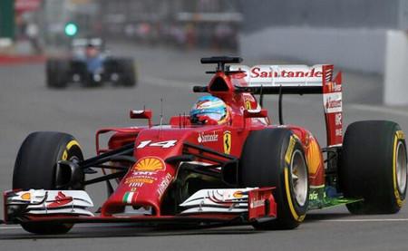 Fernando Alonso marca el mejor tiempo en la primera sesión de entrenamientos libres del Gran Premio de Canadá