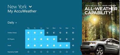 Microsoft muestra lo que podemos esperar de la publicidad 'in-app' en Windows 8