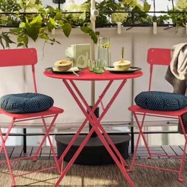 11 artículos de terraza de Ikea súper rebajados. Y son  ideales para poner a punto tus zonas de exterior