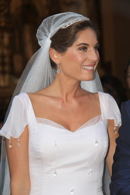 Lourdes Montes boda religiosa