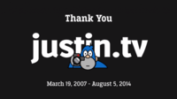 Justin.tv anuncia su cierre inmediato en beneficio de Twitch