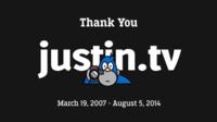 Justin.tv anuncia su cierre inmediato en beneficio de Twitch