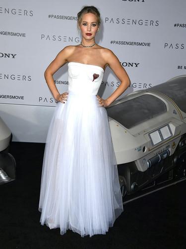 Jennifer Lawrence deslumbra (de nuevo) en la ciudad de Los Ángeles