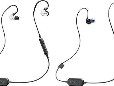 Shure presenta nuevos auriculares in-ear inalámbricos con aislamiento de hasta 37 dB