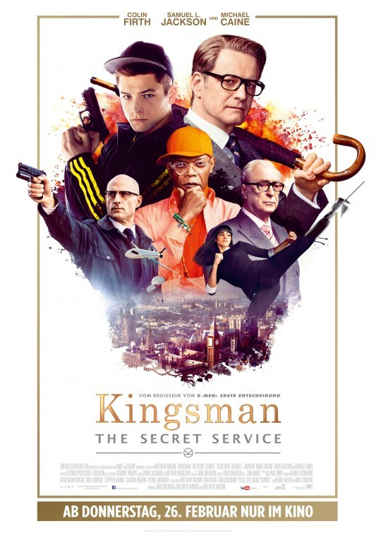 Foto de Carteles de 'Kingsman: Servicio Secreto' (8/9)