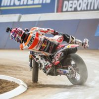 Así es la Copa de España de Flat Track 2016
