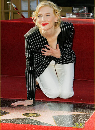 El paseo de la fama hace hueco a Cate Blanchett