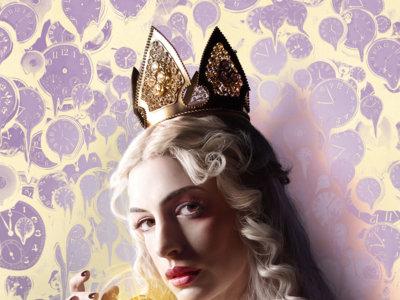 Anne Hathaway, la reina blanca de la secuela de 'Alicia en el País de las Maravillas'