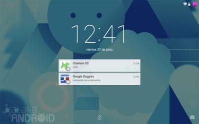 Android L ya no permite añadir widgets en la pantalla de bloqueo