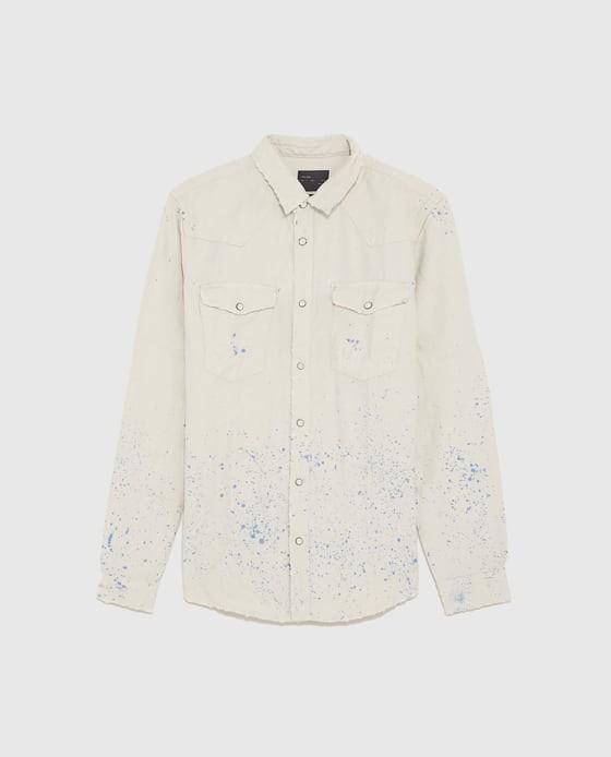 b266ba38ee Siete Camisas En Denim De Zara Para Convertirte En Un Cowboy Urbano Con  Estilo