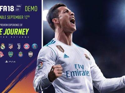 La demo de FIFA 18 YA está disponible y esto es todo lo que necesitas saber (incluidos los requisitos de PC)