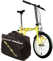 Bike in a bag: como suena, una bicicleta plegada dentro de un bolso