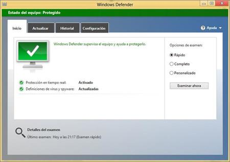 Navegar seguro en Windows 8