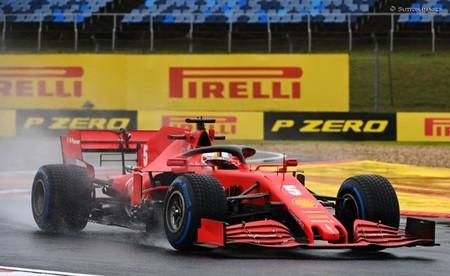 Sebastian Vettel es el más rápido en una descafeinada sesión de entrenamientos en Hungría por la lluvia