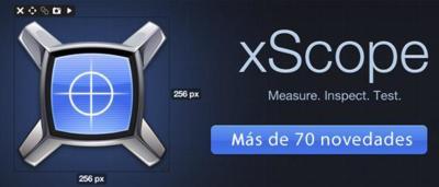 Xscope, nueva versión de una aplicación extremadamente útil para diseñadores