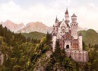 El castillo de cuento de hadas de Neuschwanstein (Alemania)