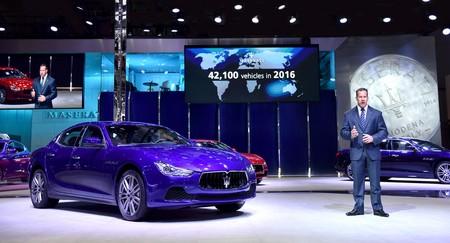 Maserati At Shanghai Auto Show 2017 Reid Bigland Ceo Maserati