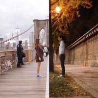 La distancia no es impedimento para que esta pareja se conecte por medio de fotografías