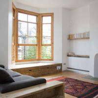 Con esta adorable chimenea minimalista, desearás que llegue ya el otoño