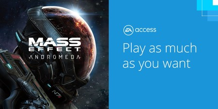 Mass Effect: Andromeda ya está disponible en EA Access y Origin Access
