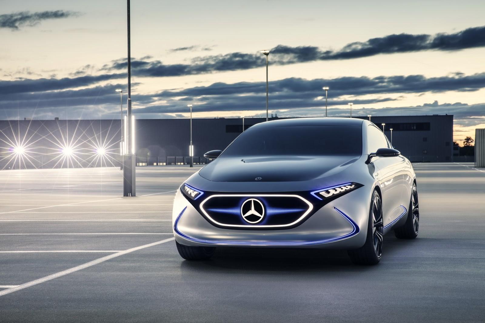 Foto de Mercedes-Benz EQ A Concept (14/15)