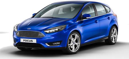 Ford Focus 2014, imágenes filtradas del restyling