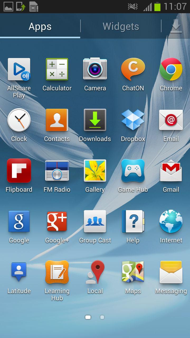 Foto de 4.1.2 Galaxy Note II (3/5)