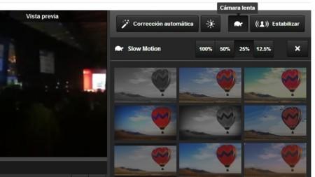 YouTube permite convertir cualquier vídeo que hayamos subido en uno a cámara lenta