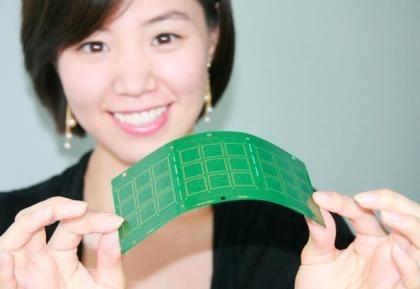 Circuito impreso de tan solo 0.08 milímetros de ancho