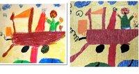 Una alfombra a partir del dibujo de tu hijo