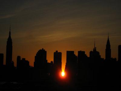 Hoy es el Manhattanhenge, el día más bonito del 2017 para ver el atardecer en Nueva York. Te explicamos por qué.
