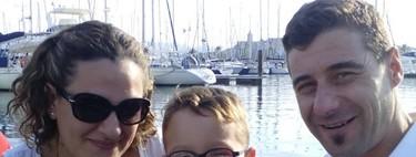 Iker tiene parálisis cerebral y sus padres luchan porque la atención temprana no termine a los seis años