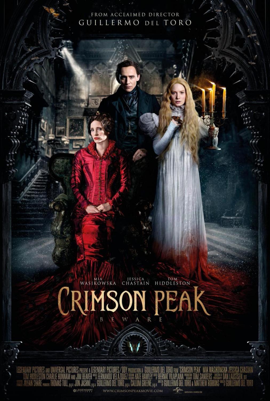 Foto de 'La Cumbre Escarlata', carteles de la película de Guillermo del Toro (10/12)