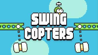 Swing Copters, el nuevo juego del creador de Flappy Bird da un paso atrás