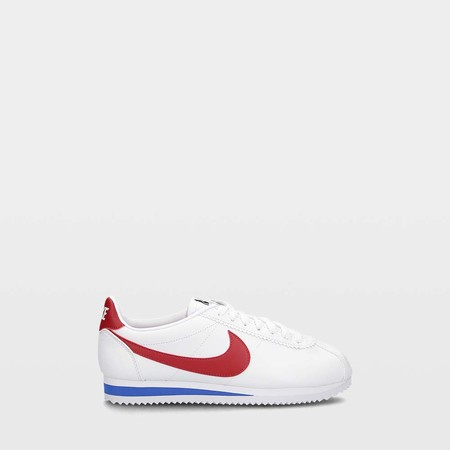 Zapatillas Nike Classic Cortez Leather 154 White Red 8654216 1