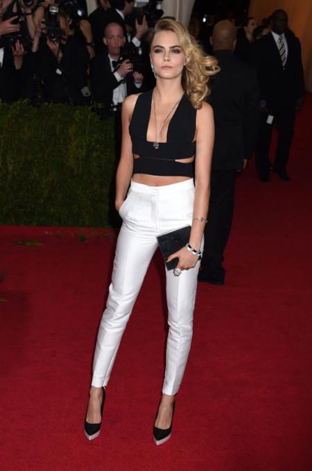 Cara Delevingne Gala MET 2014 peor vestidas