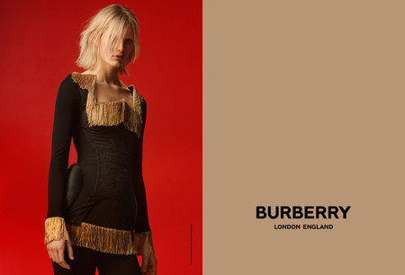 Claudia Lavender Photographed By Danko Steiner For Burberry C Courtesy Of Burberry Danko Steiner