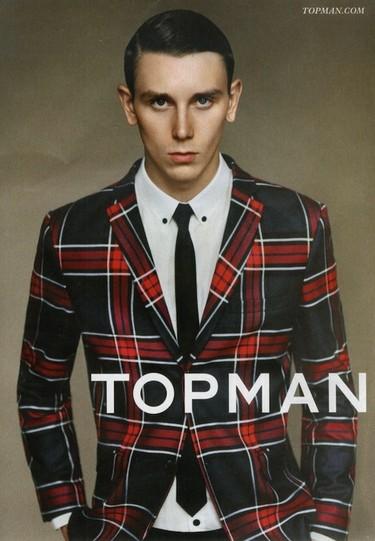 Con T de Topman y tartán: el estampado sensación de este otoño vuelve a dar de qué hablar