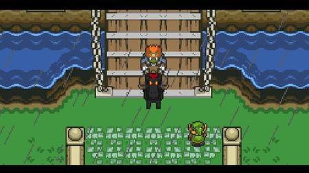 Fans de Zelda están recreando Ocarina of Time en 2D