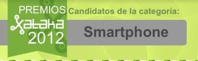 El mejor smartphone del 2012, vota por tu favorito en los Premios Xataka