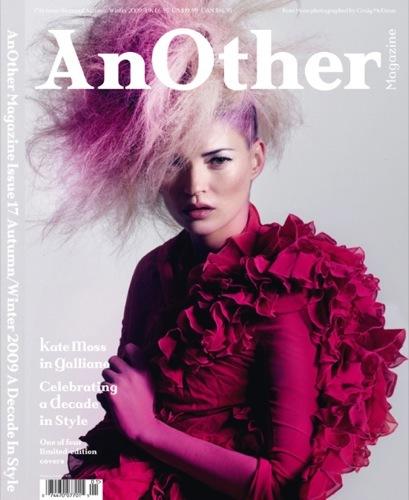 Natalie Portman, Kate Moss y compañía en Another Magazine