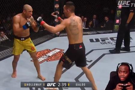 El gamer que transmitió en vivo una pelea de la UFC en su canal de Twitch fingiendo que la jugaba