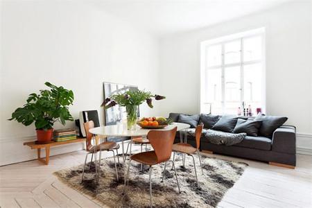 Puertas abiertas: una luminosa casa sueca