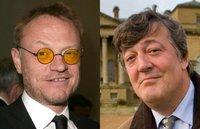 Jared Harris y Stephen Fry en 'Sherlock Holmes 2'