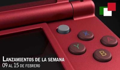 Lanzamientos de la semana en México del 09 al 15 de febrero de 2015