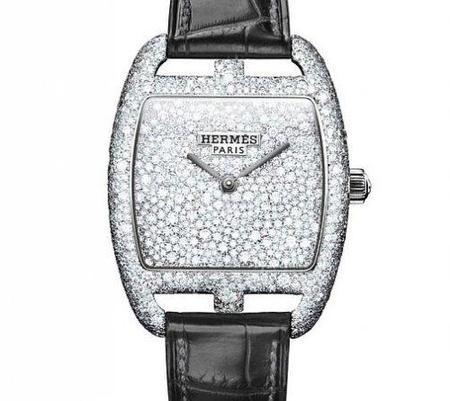 Reloj de Lujo de Hermès con más de mil diamantes
