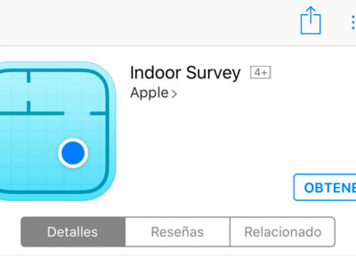 Indoor Survey, Apple lanza una nueva app para posicionamiento en interiores