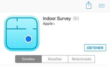 Indoor Survey, Apple lanza una nueva app para posicionamiento en interiores