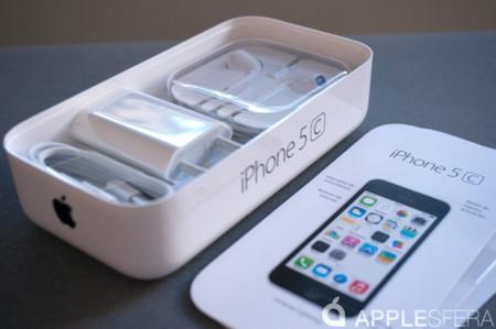 Análisis iPhone 5c contenido caja